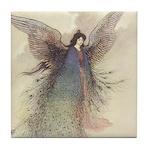 Warwick Goble's Moon Maiden Tile Coaster