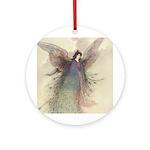 Warwick Goble's Moon Maiden Ornament (Round)
