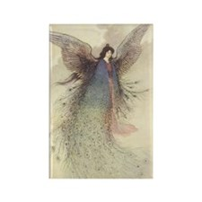 Warwick Goble's Moon Maiden Rectangle Magnet