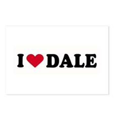 I LOVE DALE ~  Postcards (Package of 8)