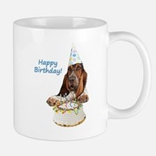 Basset Birthday Small Small Mug