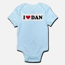 I LOVE DAN ~  Infant Creeper