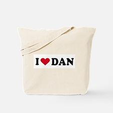 I LOVE DAN ~  Tote Bag