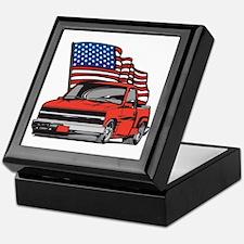American Truck Keepsake Box