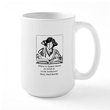 Weak in the Bookstore Mug