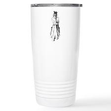 Reading Woman Travel Mug