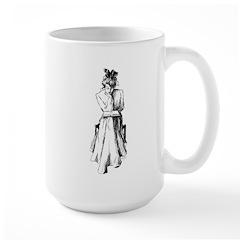Reading Woman Mug