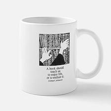 Books, Enjoy or Endure Mug