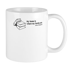 Home is Where Books Are Mug
