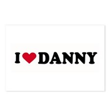 I LOVE DANNY ~  Postcards (Package of 8)