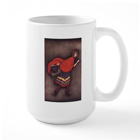 Harbour's Red Riding Hood Large Mug