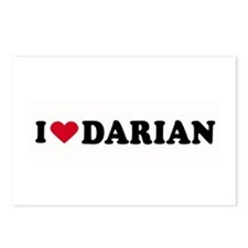 I LOVE DARIAN ~  Postcards (Package of 8)