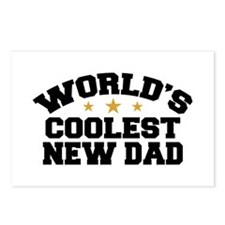 World's Coolest New Dad Postcards (Package of 8)