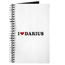 I LOVE DARIUS ~ Journal