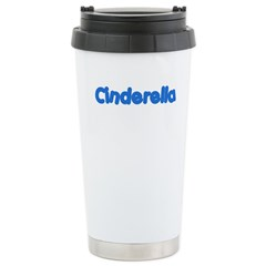 Cinderella (Blue) Stainless Steel Travel Mug