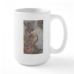 Dulac's Little Mermaid Large Mug