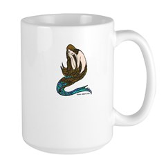Abbott's Mermaid Large Mug