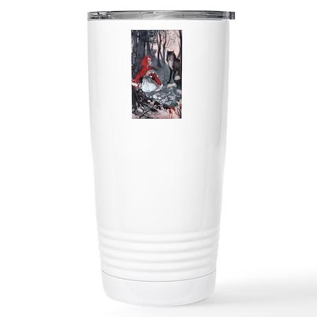 Little Red Riding Hood Stainless Steel Travel Mug