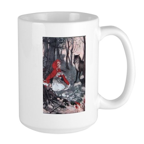 Little Red Riding Hood Large Mug
