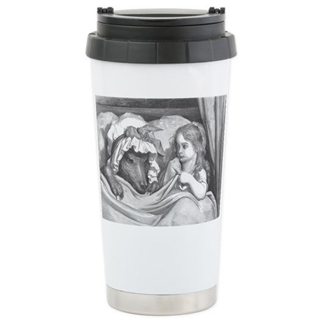 Dore's Red Riding Hood Stainless Steel Travel Mug