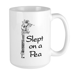 Slept on a Pea Mug