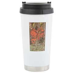 Bilibin's Red Horseman Stainless Steel Travel Mug