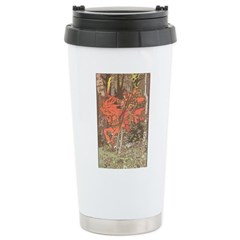 Bilibin's Red Horseman Travel Mug