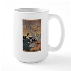 Winter's Wild Swans Large Mug