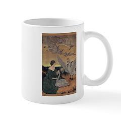 Winter's Wild Swans Mug