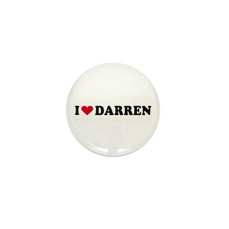 I LOVE DARREN ~ Mini Button (10 pack)