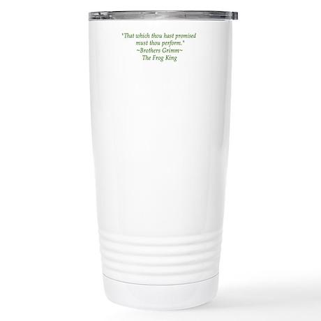 Thou hast promised... Stainless Steel Travel Mug