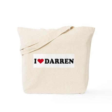 I LOVE DARREN ~ Tote Bag