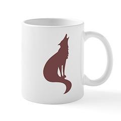Brown Wolf Mug