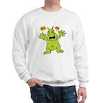 Hug Me, I'm Green! Sweatshirt