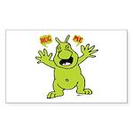 Hug Me, I'm Green! Rectangle Sticker 10 pk)