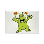 Hug Me, I'm Green! Rectangle Magnet (10 pack)