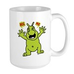 Hug Me, I'm Green! Large Mug