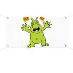 Hug Me, I'm Green! Banner