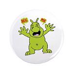 "Hug Me, I'm Green! 3.5"" Button (100 pack)"