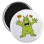 "Hug Me, I'm Green! 2.25"" Magnet (10 pack)"