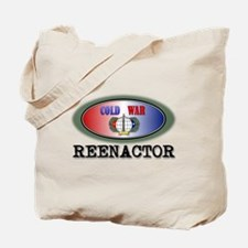 Cold War Reenactor Tote Bag
