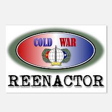 Cold War Reenactor Postcards (Package of 8)