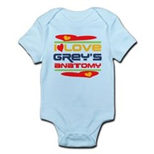 I Love Grey's Anatomy Infant Bodysuit
