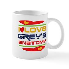 I Love Grey's Anatomy Mug
