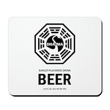 Dharma Beer Mousepad