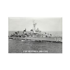 USS TRATHEN Rectangle Magnet (100 pack)
