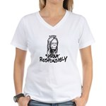 Shrink Responsibly Women's V-Neck T-Shirt