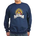 Blessed Are The Cheesemakers Sweatshirt (dark)