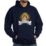 Blessed Are The Cheesemakers Hoodie (dark)