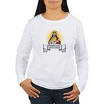 Blessed Are The Cheesemakers Women's Long Sleeve T